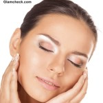 How To Contoure Eyes with White Eye shadow makeup