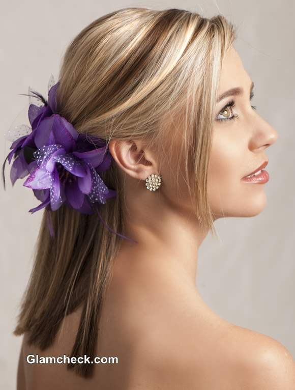 How and where to wear Flower Hair Clips