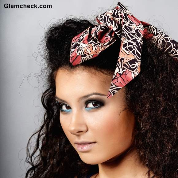 How to Wear Scarf as headband