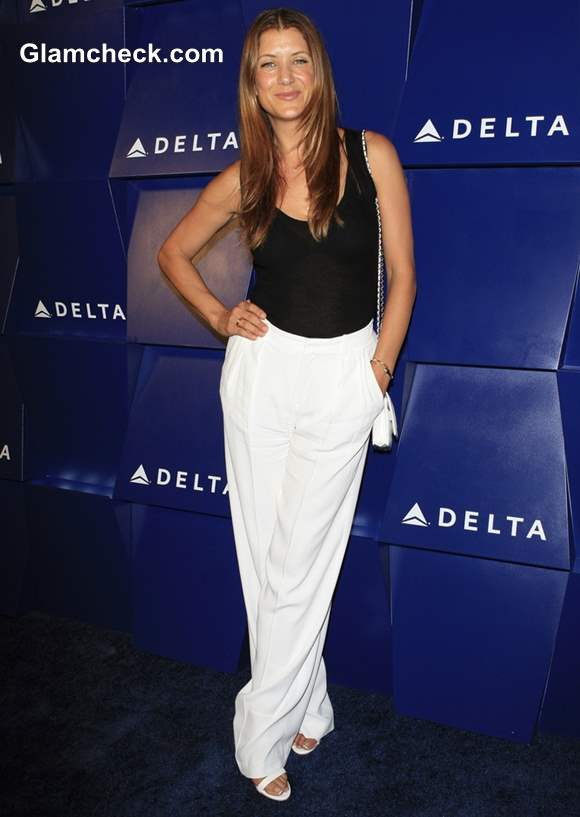 Kate Walsh Goes Monochrome for Summer Party 2013