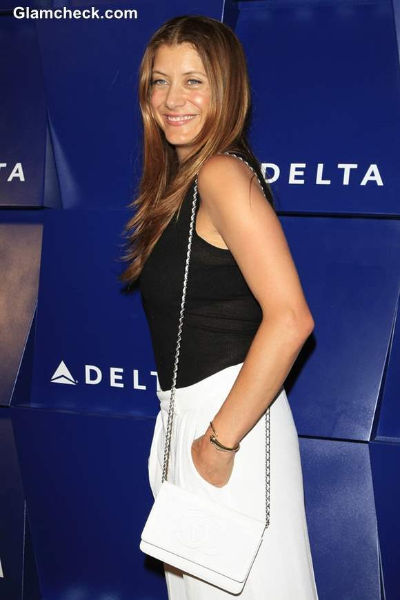Kate Walsh Monochrome outfit 2013
