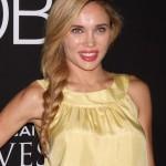 Natalie Gal Side Braid hairstyle 2013