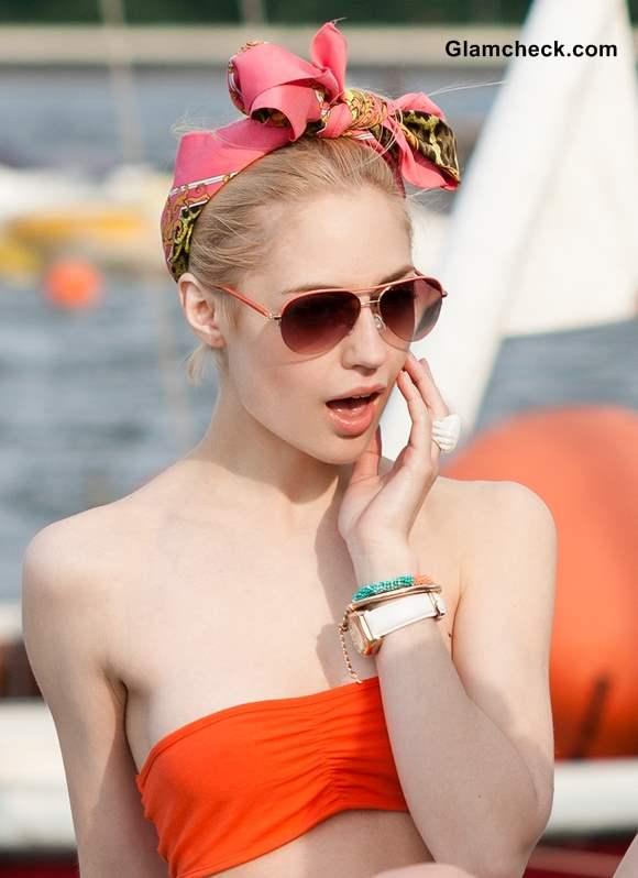 Styling Tips 2 Trendy Ways To Wear Head Scarf