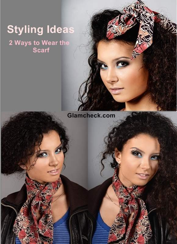 Styling Ideas - 2 Ways to Wear the Scarf