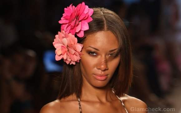Styling tips-How to wear Flower Hair Clips