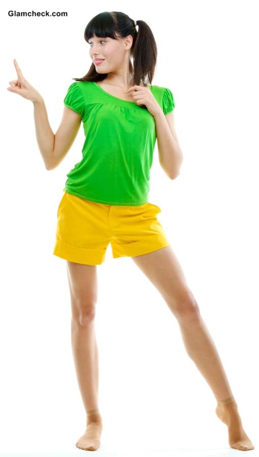 T shirts to Wear with Yellow Shorts