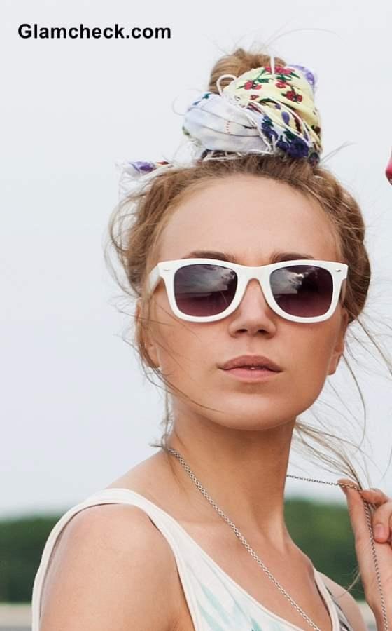 Trendy Ways to Wear Head Scarf