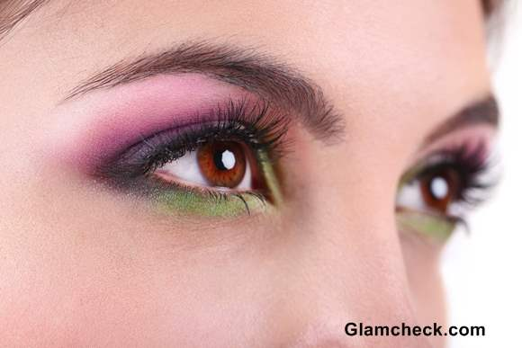 Tropical Eye Makeup How To Color Burst