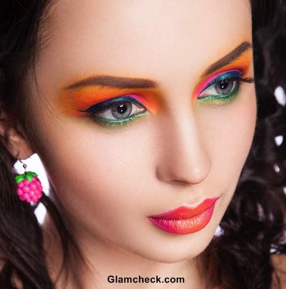 Tropical Makeup Looks