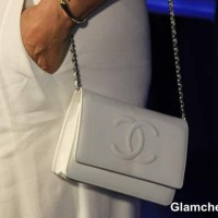 White Chanel Handbag 2013