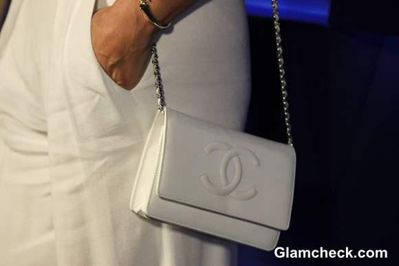 White Chanel Handbag  2013