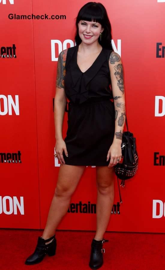 Alexis Krauss Arm Tattoos