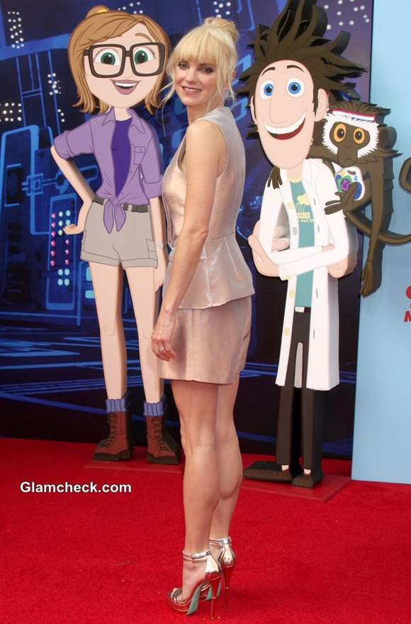 Anna Faris at the Cloudy With a Chance of Meatballs 2 Premiere