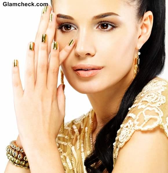 Beauty Trend 2013 - Metallic Nails