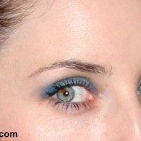 Blue Eye Makeup Zoe Lister-Jones 2013