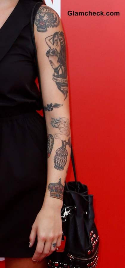 Celebrity Arm Tattoos and their meaning