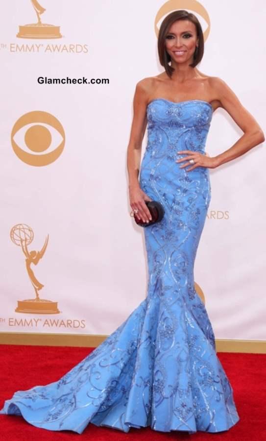 Giuliana Rancic at the 65th Emmy Awards
