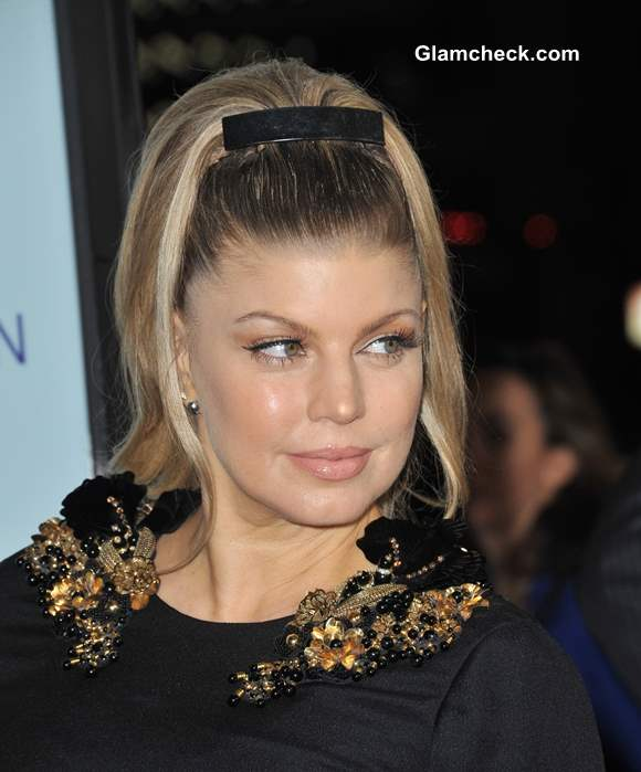 Hairstyle Diy Sport A High Ponytail Like Fergie