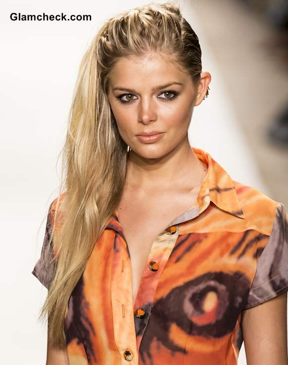 Hairstyle Trend 2014 Twisty Side Swept Hair