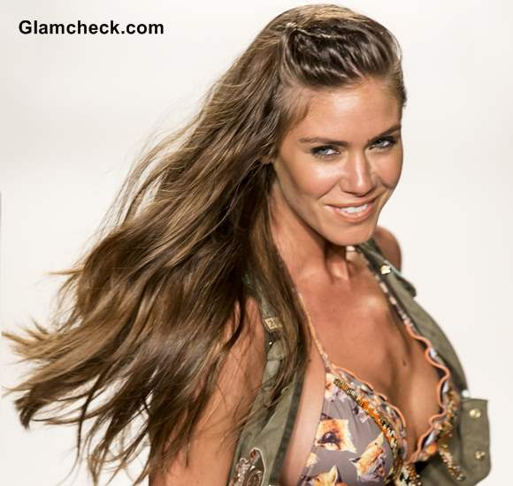 Hairstyle Trends S-S 2014 - Twisty Side Swept Hair at Agua ...