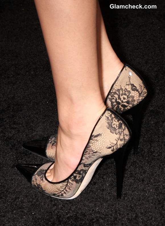 Jimmy Choos lace shoes