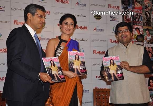 Kareena Kapoor 2013 at Filmfare Cover Launch