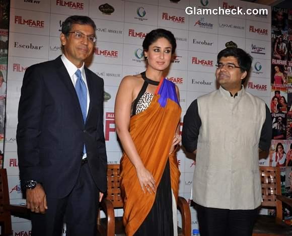 Kareena Kapoor at Filmfare Cover Launch 2013