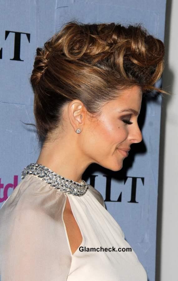 Maria Menounos Hairstyle Pompadour 2013