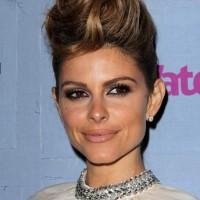 Maria Menounos Pompadour Hairstyle 2013