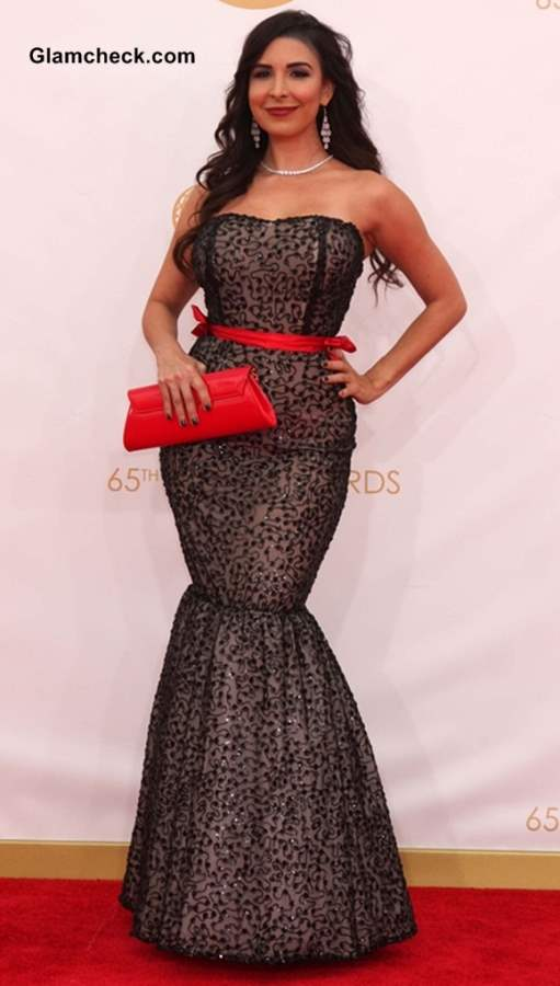 Mayra Veronica at the 65th Emmy Awards