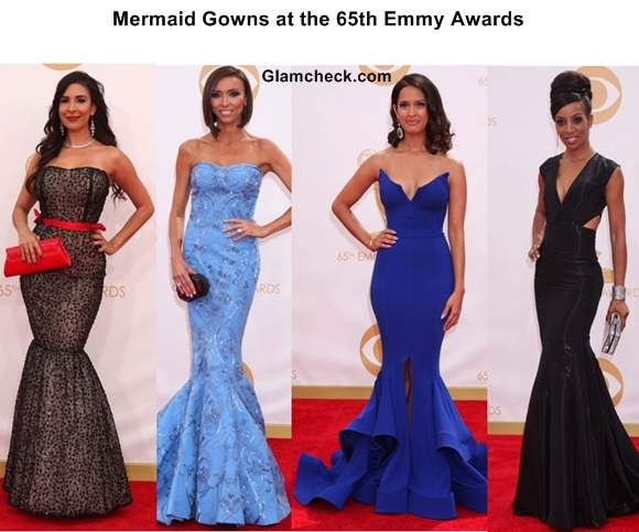 Mermaid Gowns at the 65th Emmy Awards