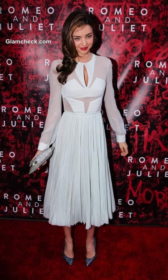 Miranda Kerr at Broadway Romeo and Juliet Opening Night