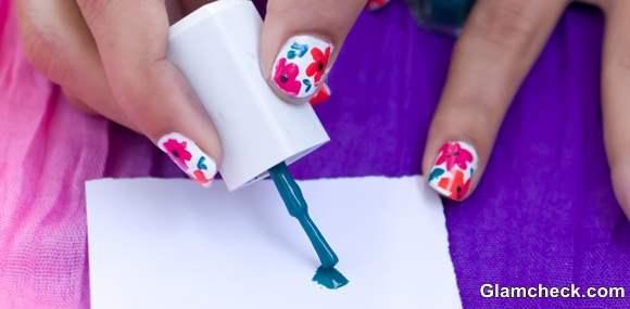 Nail Art DIY flowers