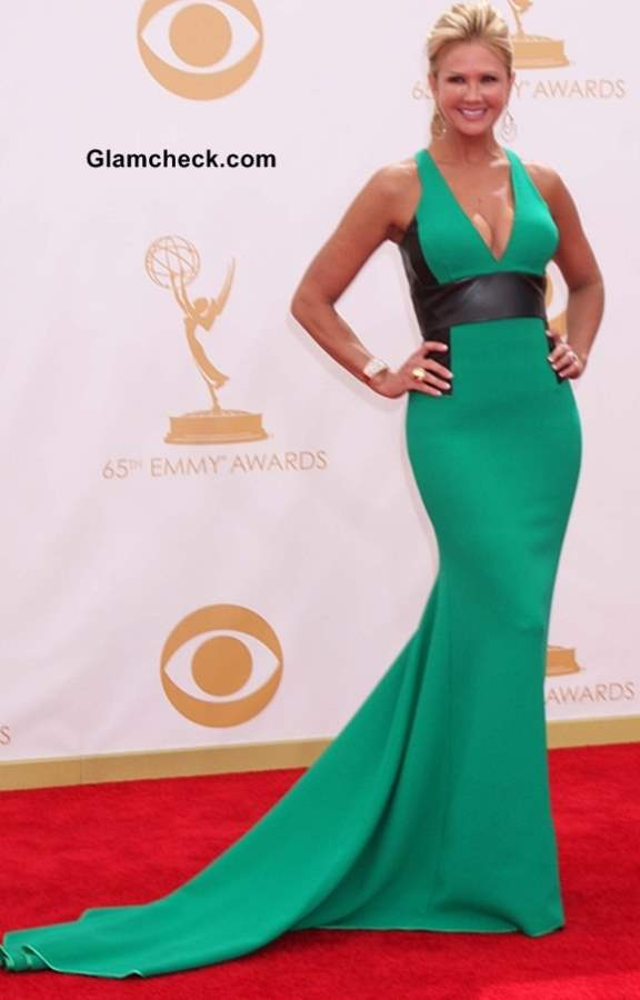 Nancy ODell at the 65th Emmy Awards