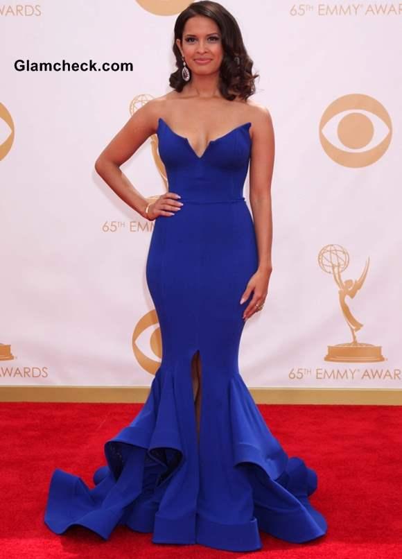 Rocsi Diaz at the 65th Emmy Awards