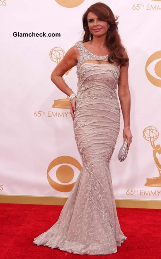 Roma Downey at the 65th Emmy Awards