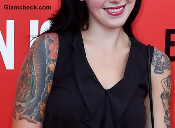 Singer Alexis Krauss Arm Tattoos