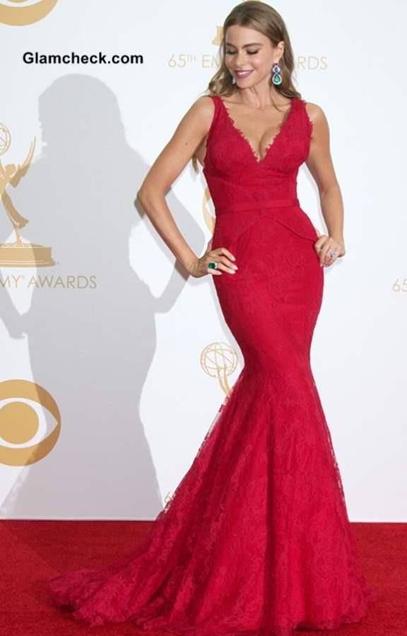 Sofia Vergara at the 65th Emmy Awards