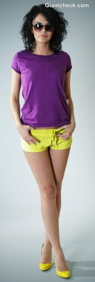 Styling Tips for Wearing Colored Shorts