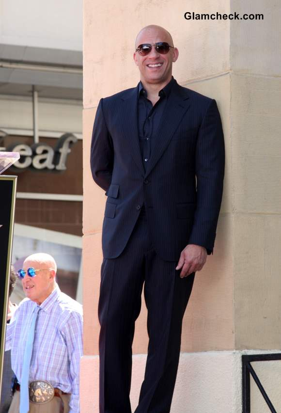 Vin Diesel Wins a Star on Hollywoods Walk of Fame