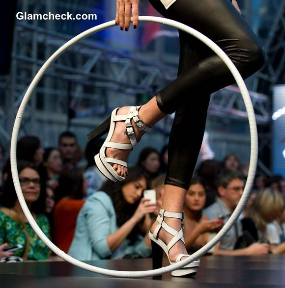 Wittner Black and white shoe Collection at Melbourne Spring Fashion Week 2013