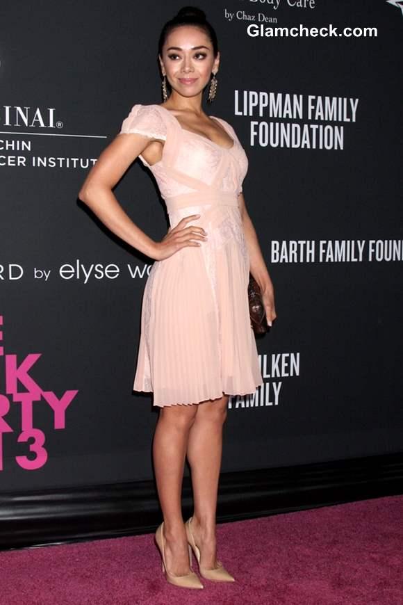 Aimee Garcia at Santa Monica 2013 Pink Party