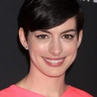 Anne Hathaway Pixie Hair 2013