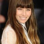 Celebrity Hair Color - Jessica Biel Turns Ombre