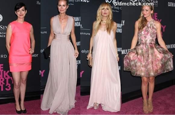 Celebrity Pink Dresses