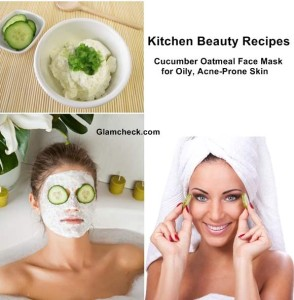 DIY - Cucumber Face Mask for Oily and Acne-Prone Skin