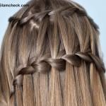 Double Waterfall Braid Hairstyle DIY