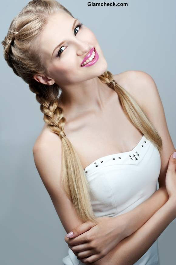 Dutch Braids Hairstyle