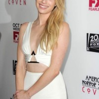 Emma Roberts at American Horror Story Coven Premiere