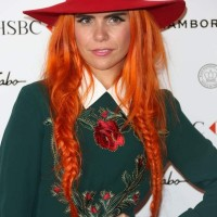 Fishtails and Pigtails Paloma Faith Rocking Hair Color and Hairstyle